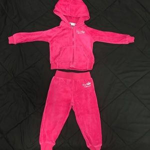 Hot pink Juicy Couture Tracksuit